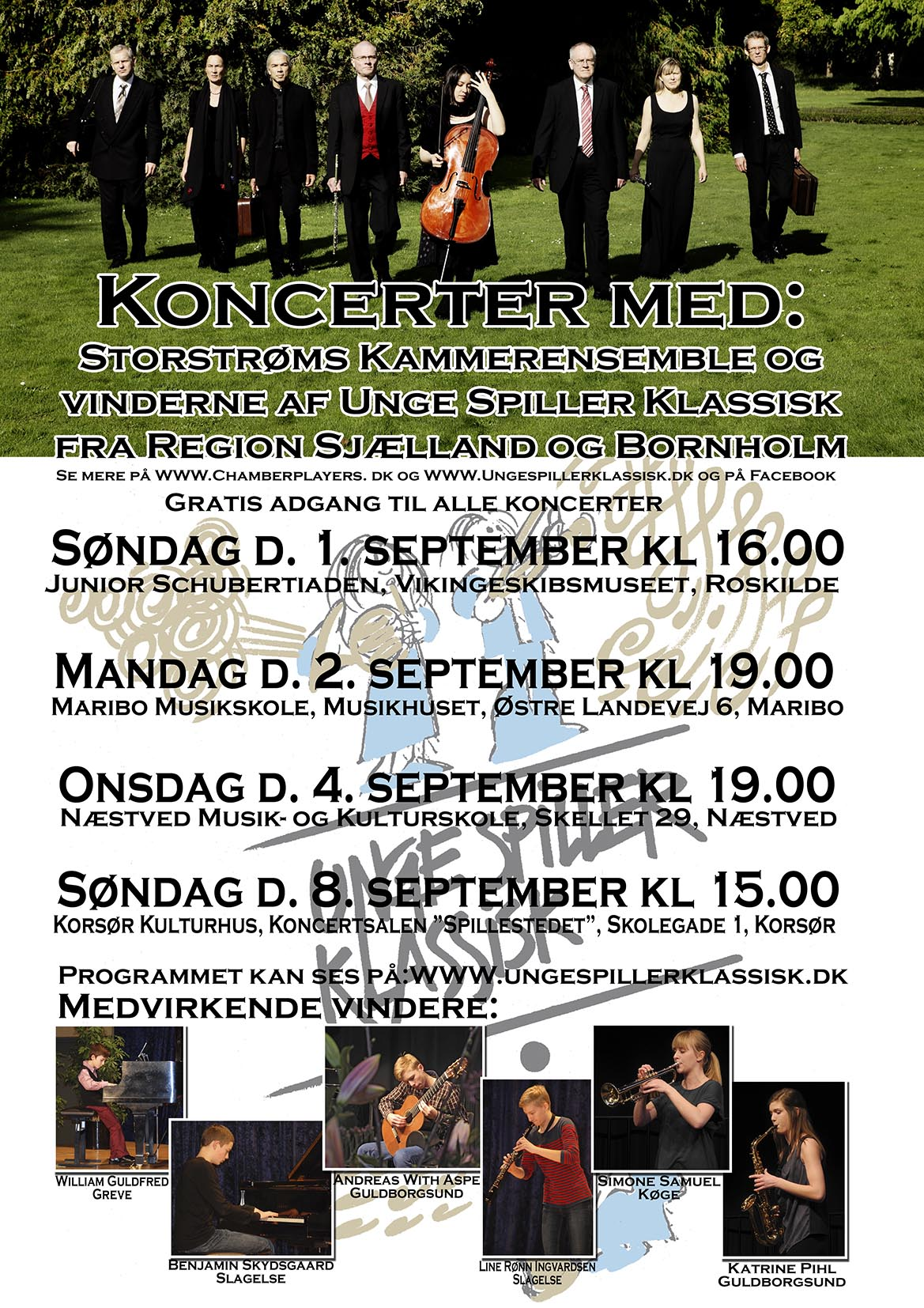USK 2013 vinderkoncertinvitation 1.- 8. september Flyer web